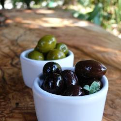 Kalamon and Green Olives