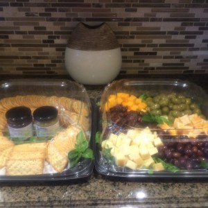 Silver Leaf Cheese Platter 2