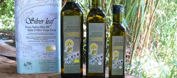 Silver Leaf Organic Olive Oil