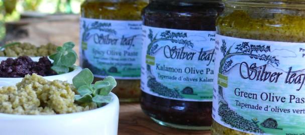 Silver Leaf Organic Olive Paste